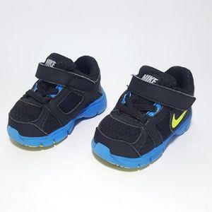 NIKE Fusion ST Boys Toddler Black Blue Sneakers